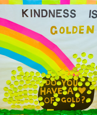 kindness wall